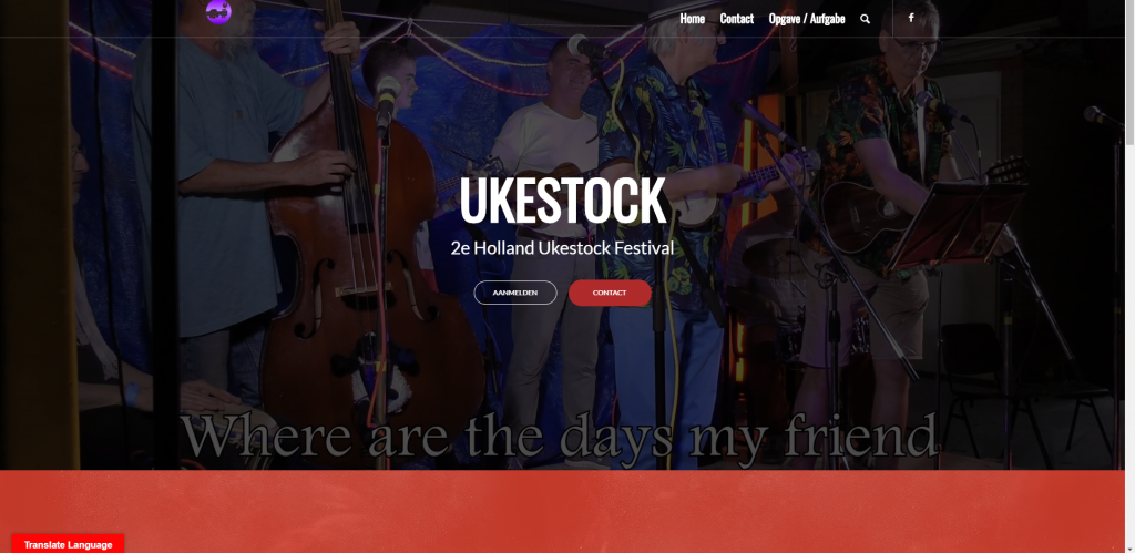 Ukestock Festival website