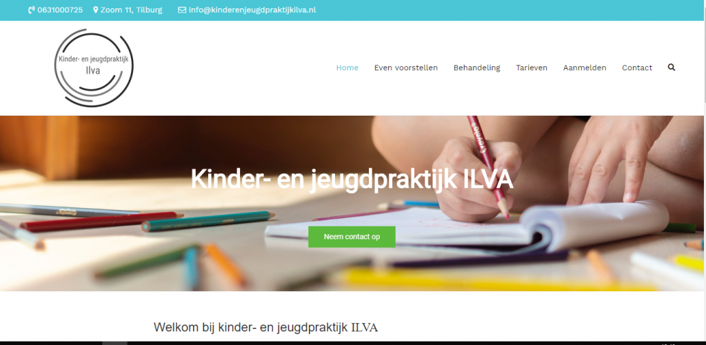 Kinder en jeugdpraktijk ILVA
